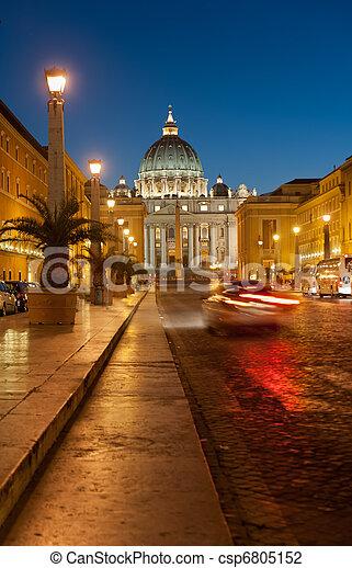 The Vatican city - csp6805152