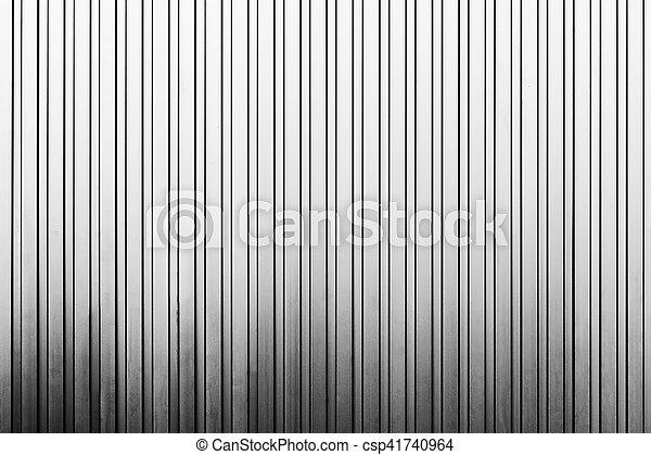 Vertical Line Art : The vertical line texture of metal sheet wall factory