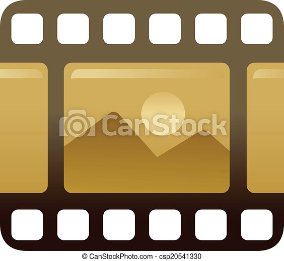 The view of cinefilm - csp20541330