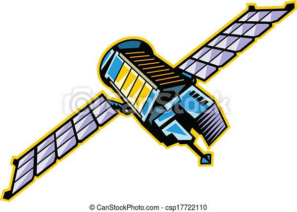 The view of satellite - csp17722110