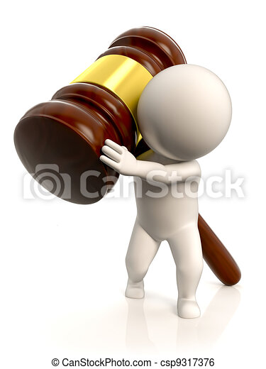 The weight of the law - csp9317376