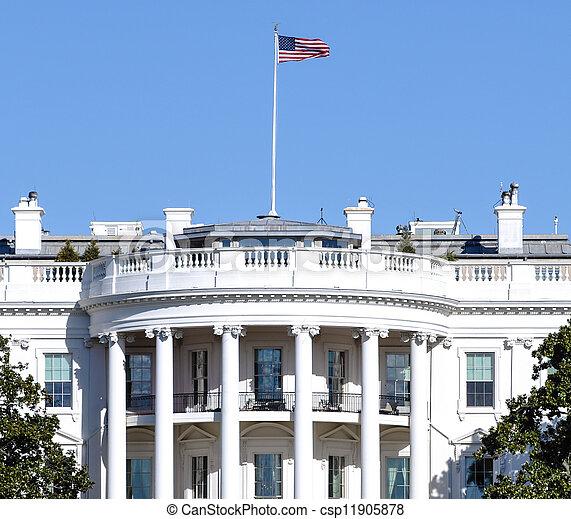 The White House in Washington DC - csp11905878
