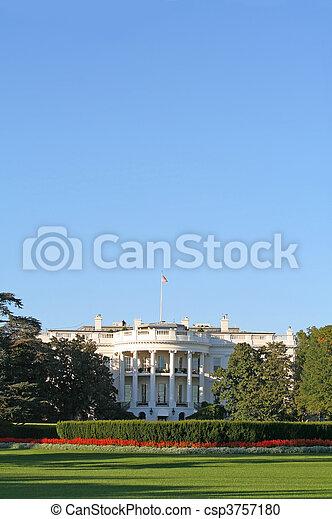 The White House - csp3757180