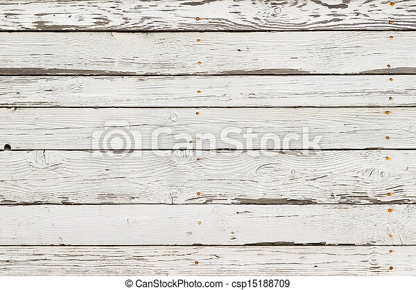 The white wood texture with natural patterns background - csp15188709