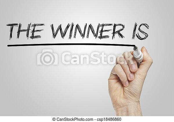 The winner is - csp18486860