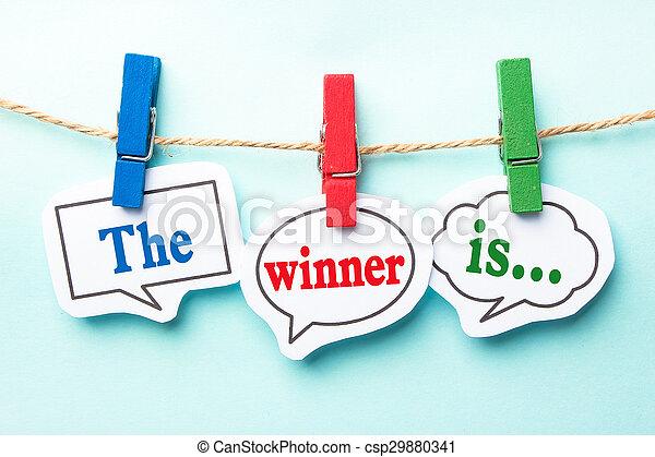 The winner is - csp29880341
