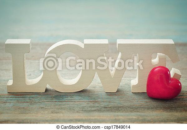The word Love - csp17849014
