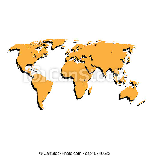The world map vector illustration the world map on a vector the world map vector illustration gumiabroncs Gallery