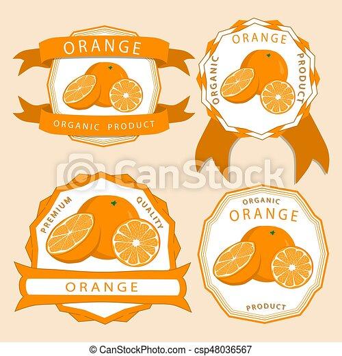 The yellow orange - csp48036567