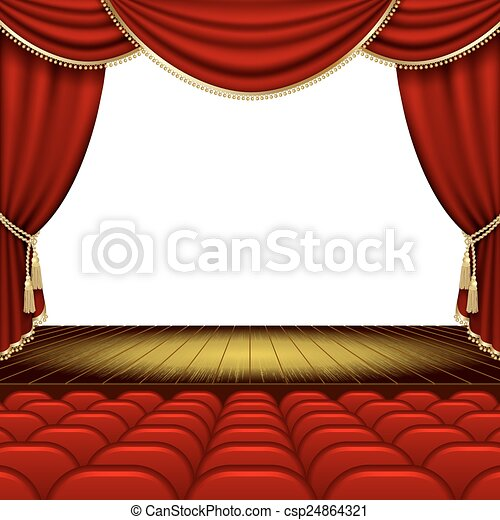 Theater stage - csp24864321