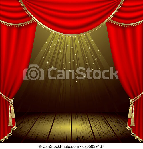 Theater stage - csp5039437
