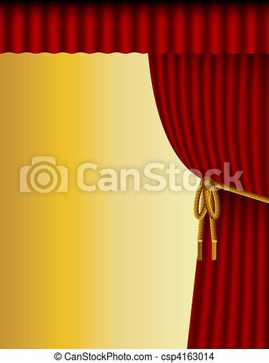 Theatre Background - csp4163014