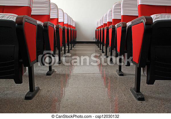 theatre chairs - csp12030132