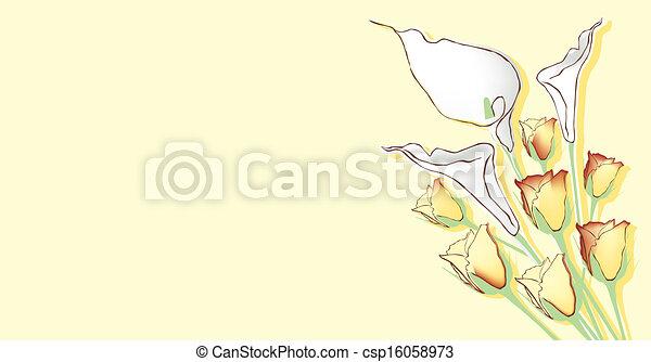 thema, bloemen - csp16058973