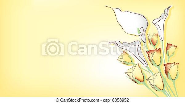 thema, bloemen - csp16058952