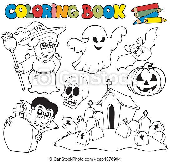 Tolle Halloween Färbungen Galerie - Ideen färben - blsbooks.com