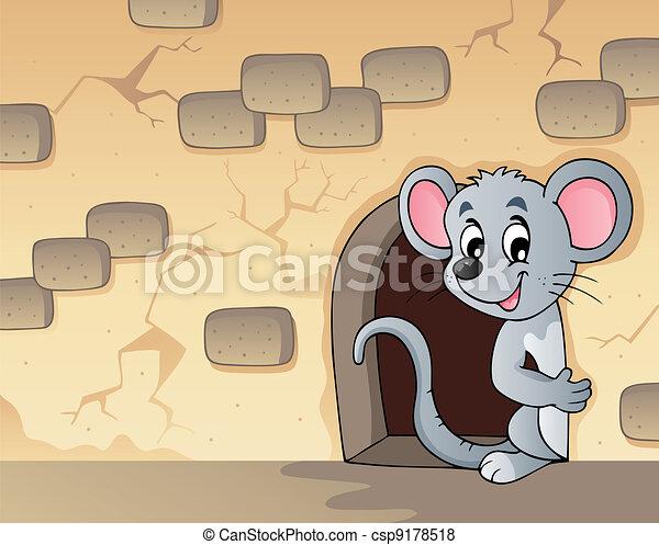 thema, muis, beeld, 3 - csp9178518
