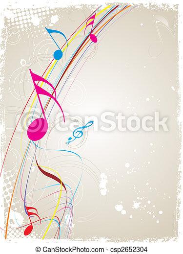 thema, muziek - csp2652304