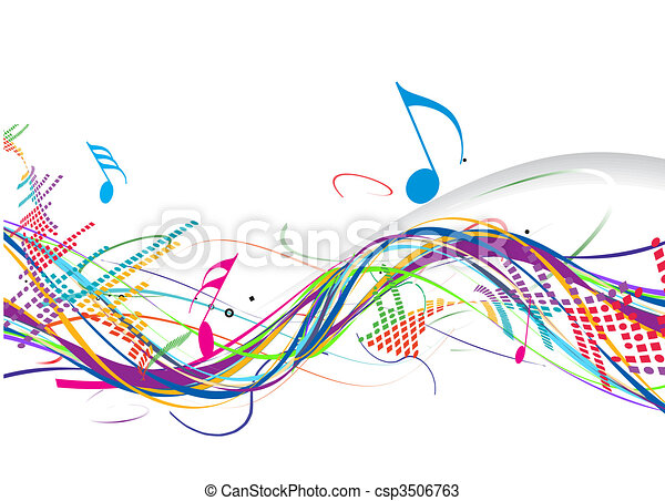 thema, muziek - csp3506763