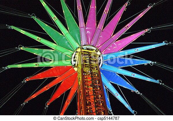 Theme Park Ride - csp5144787