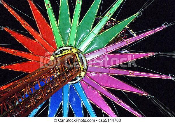 Theme Park Ride - csp5144788