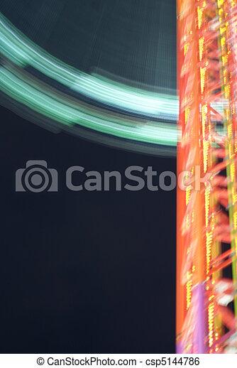 Theme Park Ride - csp5144786