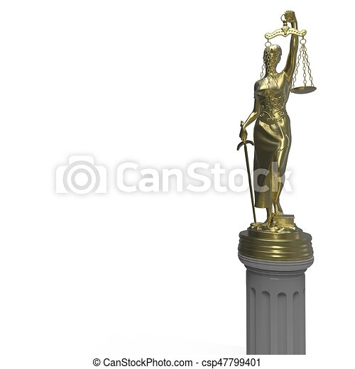Sterling Silver 3D 25x13mm Lady Justice Scales Droit Avocat charme