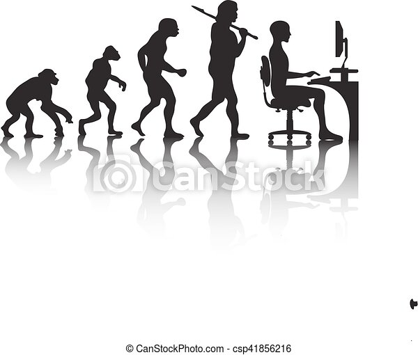 """Képtalálat a következőre: """"az ember fejlődése karikatúrában"""""""