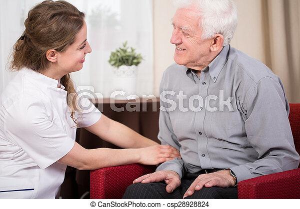 Therapist home visit - csp28928824