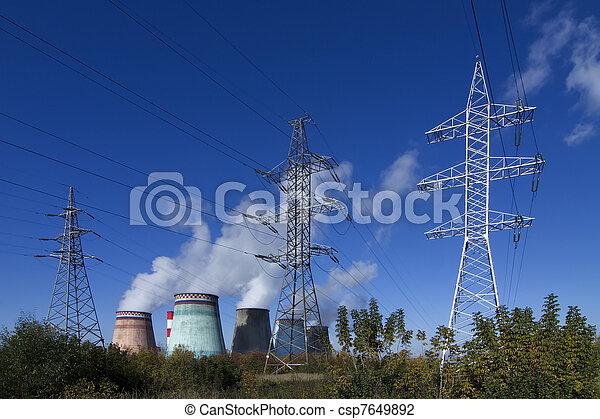 thermoelectric plant - csp7649892