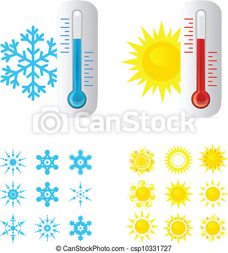 Thermometer Hot And Cold Temperature - csp10331727