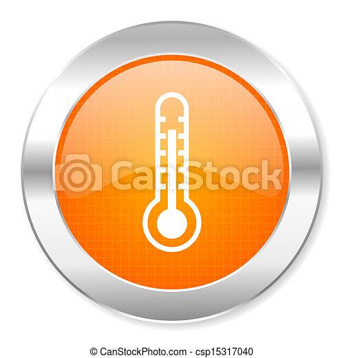thermometer icon - csp15317040
