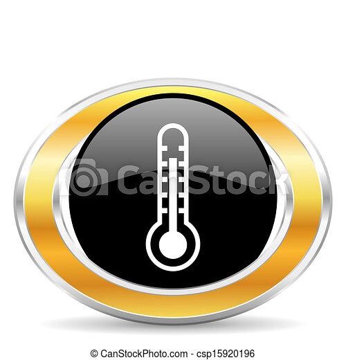 thermometer icon - csp15920196