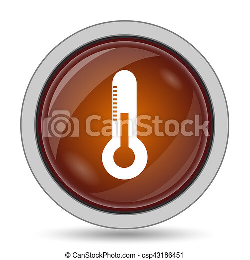 Thermometer icon - csp43186451