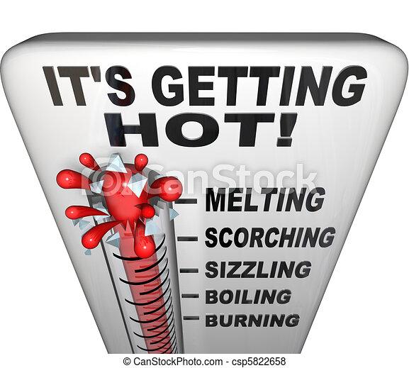 Thermometer - Mercury Rising Bursting - Heat Rising - csp5822658