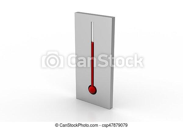 Thermometer - csp47879079