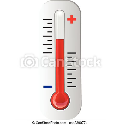 Thermometer Vector  - csp2390774