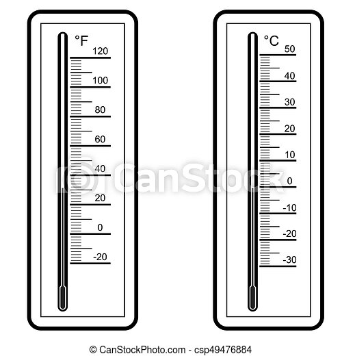 thermometers  Vector illustration - csp49476884
