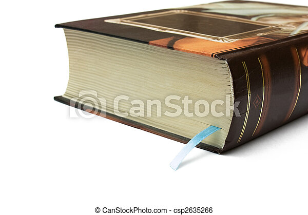 thick book bookmark in the thick book