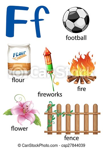 Things That Start With The Letter F