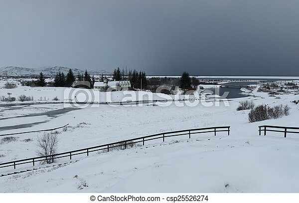 Thingvellir National Park, Iceland - csp25526274