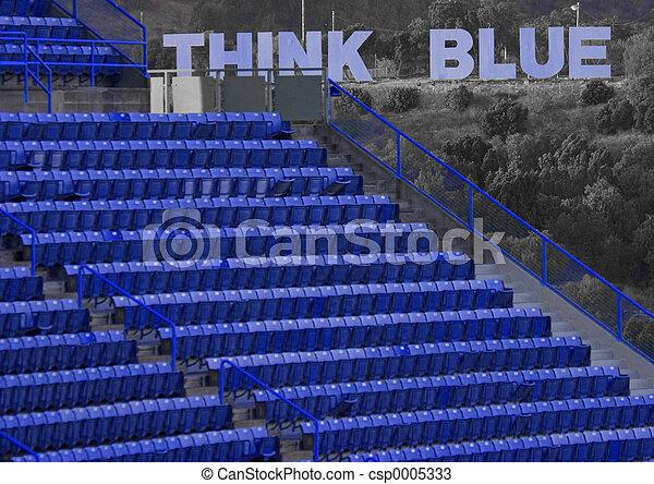 Think Blue! - csp0005333
