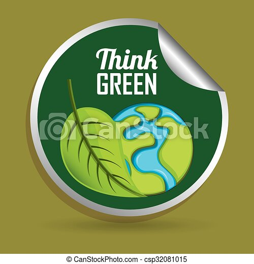 Think green design  - csp32081015