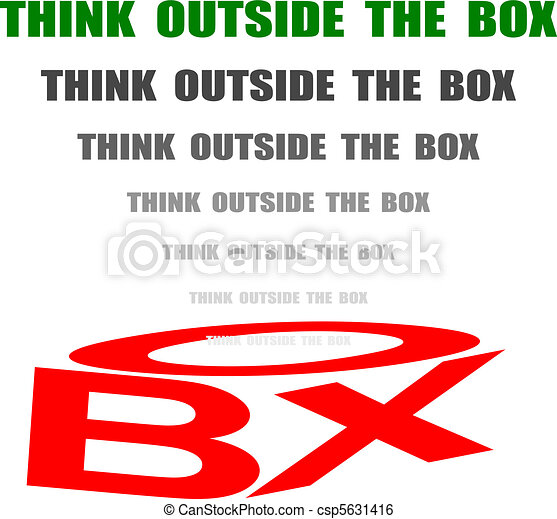 think out of the box - csp5631416