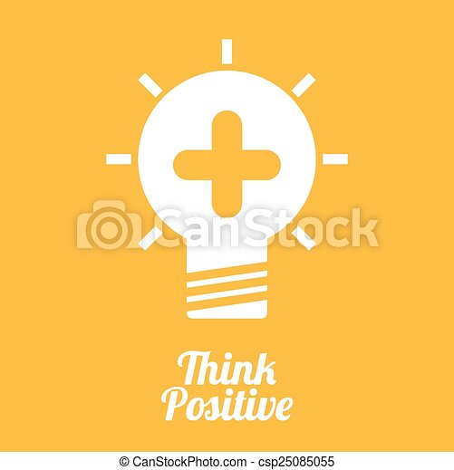 think positive  - csp25085055