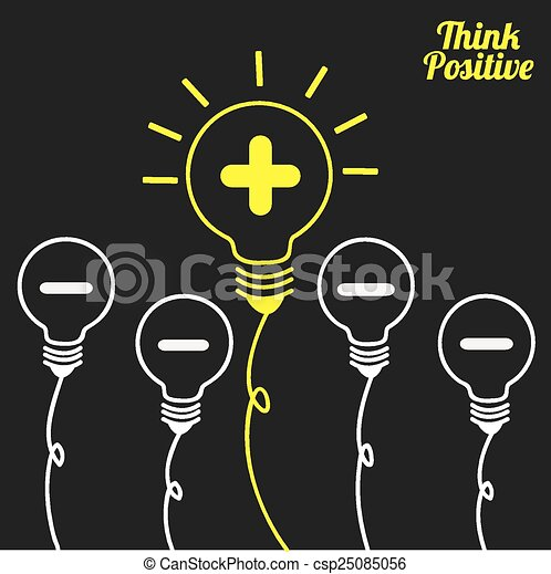 think positive  - csp25085056