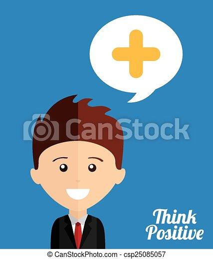 think positive  - csp25085057