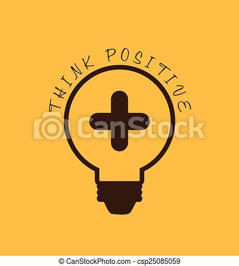 think positive  - csp25085059