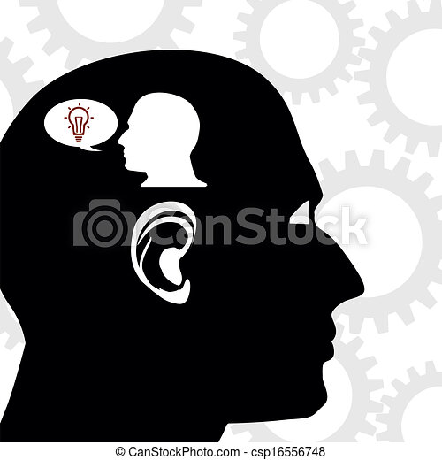 Thinking man - csp16556748
