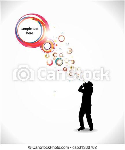 Thinking man - csp31388782
